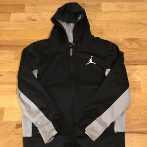Jordan Lightweight Full Zip Youth Sweater